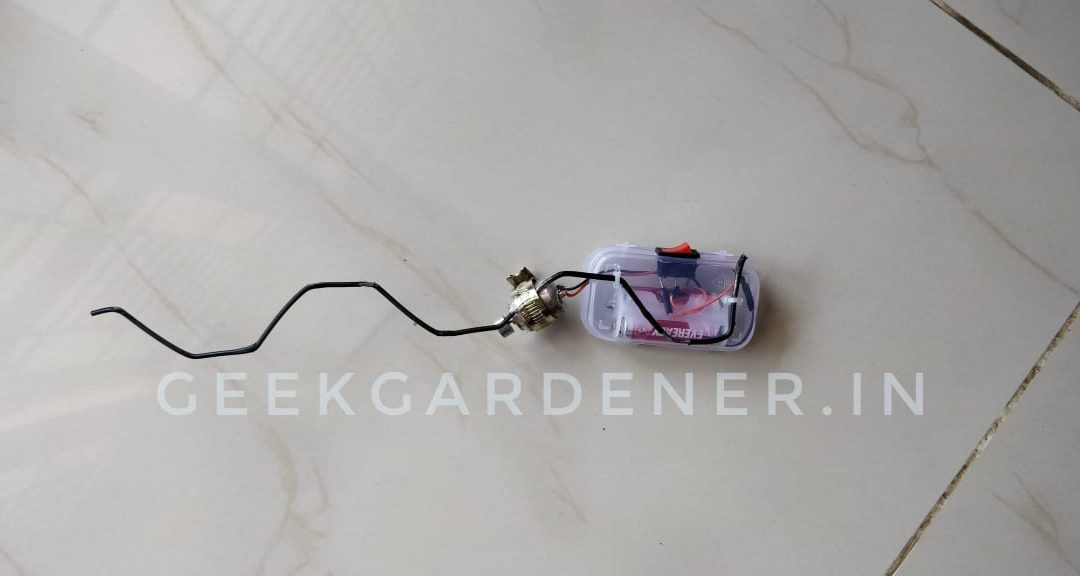 Make your own pollinator for under INR 100